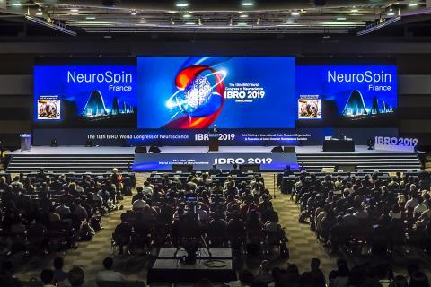 21일 열린 'IBR 2019' 개막식 장면. 전 세계 3500여명이 참여하고 있는 가운데 올림픽과 같은 축제 분위기가 이어지고 있다. ⓒ 이강봉/ScienceTimes