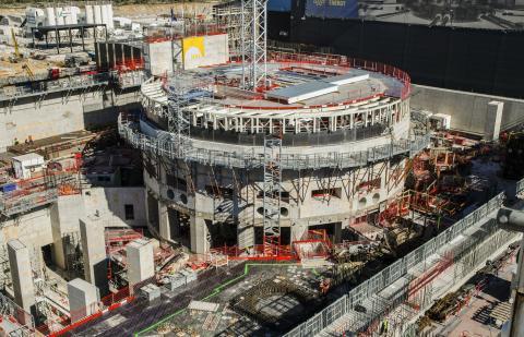 프랑스에 건설되고 있는 국제 핵융합 원자로ⓒWikimedia