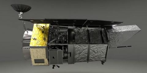케플러 망원경의 후계자로 낙점받은 'WFIRST'의 외관