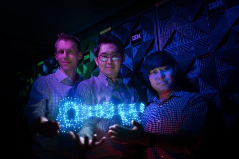 딥락커를 선보인 IBM 연구원 ⓒ Flickr