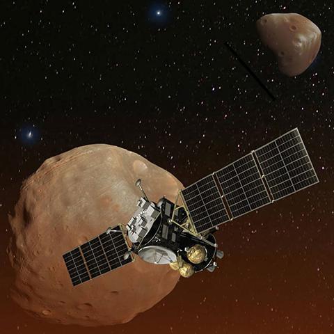 MMX 탐사선 상상도 © JAXA / NASA