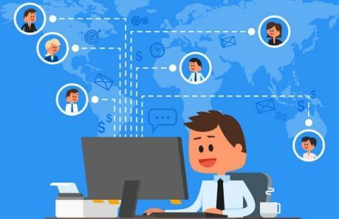 디지털 기술을 기반으로 한 원격근무는 전통적 기업들의 이미지도 바꾸고 있다 ⓒ remote.co