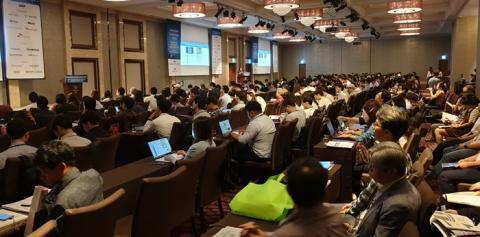 일하는 방식의 혁신과 생산성 향상을 위한 솔루션을 제공하는 행사가 개최되었다  ⓒ 김준래/ScienceTimes