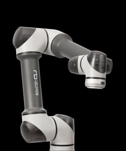 국내 로봇기업 '레인보우'가 개발한 협동로봇 RB 시리즈의 모습.  ⓒ레인보우로보틱스