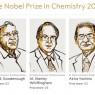 노벨화학상, 리튬이온전지 개척자 3명에게