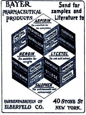 헤로인 광고  ⓒ 위키백과