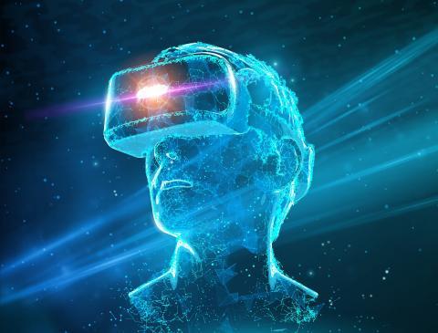 '코리아 VR 페스티벌 2019' 의 공식 포스터의 이미지 일부