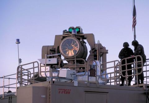 미국과 이스라엘이 공동개발한 레이저 병기인 전술 고에너지 병기. 부수 피해가 적은 드론 요격용 병기로 레이저 병기도 각광을 받고 있다. ⒸWikipedia