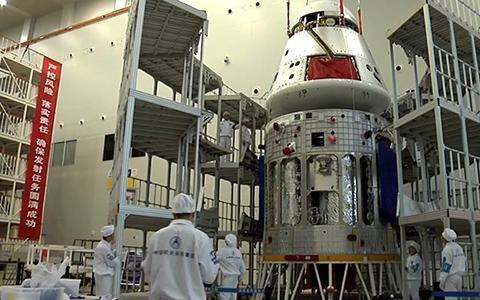 중국의 차세대 우주선. 명칭은 아직 정해지지 않았다. © CAST