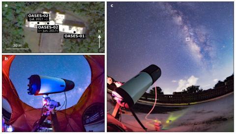 'A kilometre-sized Kuiper belt object discovered by stellar occultation using amateur telescopes' 논문 내 삽입 그림