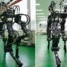 국내 연구진이 개발한 한국형 네발로봇 '진풍'
