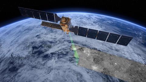 위성으로 지표면 데이터를 획득해서 핵실험 폭발력을 분석한다.
