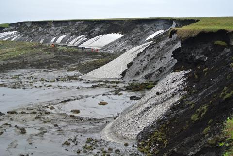 캐나다 북부의 동토가 녹고 있다. ⓒ 위키피디아
