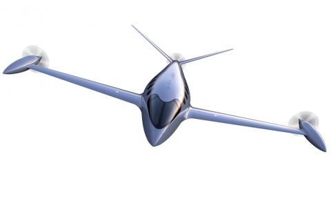 이스라엘의 이비에이션 앨리스가 선보인 100% 전기동력 비행기 '앨리스(Alice full-scale)'. 9명이 탑승할 수 있는 이 전기비행기는 한 번의 충전으로 950km의 비행이 가능하다. 2022년 미국 국내선에 투입할 계획. ⓒEviation Alice
