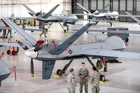 군용 드론의 대명사 'MQ-9 리퍼' © USAF