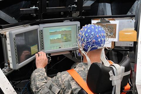 N³는 외부 센서, 또는 나노트랜스듀서를 통해서 뉴런 신호를 포착한다.© US Army Research Laboratory