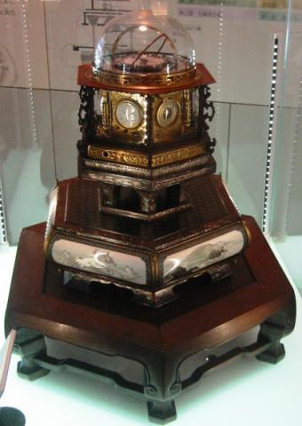 다나카히사시게가 만든 정밀시계(만년자명종) ⓒ 위키미디어