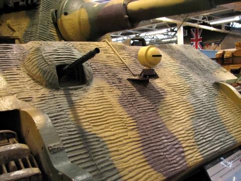 독일 전차에 적용된 치머리트 코팅 ⒸWikipedia