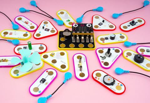 쉽고 재미있게 전기회로 실험을 할 수 있는 ㈜소킷의 과학 교구 '척척척! 전자회로 배우기 키트(KIT)'.