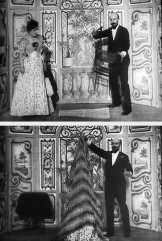 로베르 우댕 극장에서의 한 부인의 실종  Ⓒ public domain
