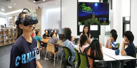 스튜디오 코인은 가상기술 현실을 활용해 다양한 토론 문화와 체험 서비스를 제공하고 있다. ⓒ (주)스튜디오 코인