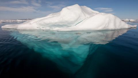 북극지방의 빙산. ⓒ 위키피디아