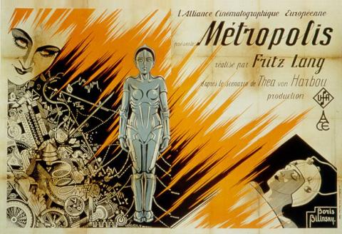 '메트로폴리스' 포스터