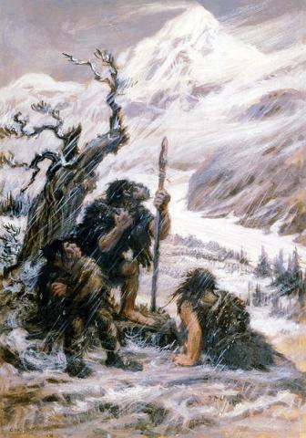 네안데르탈인은 급작스런 추위 등의 기후변화를 극복하기 어려웠을 것으로 추정된다 ⓒ 위키미디어
