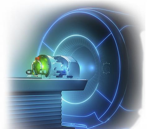 MRI 유도 하의 고집적 초음파 신경 헬멧. CREDIT: INSIGHTEC
