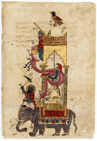 알 자자리 '코끼리 시계'  Ⓒ public domain