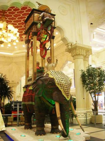 '코끼리 시계' 재현품  Ⓒ public domain