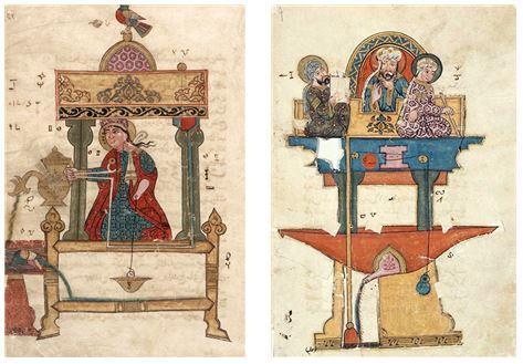 알 자자리 '오토마타 설계도'  Ⓒ public domain