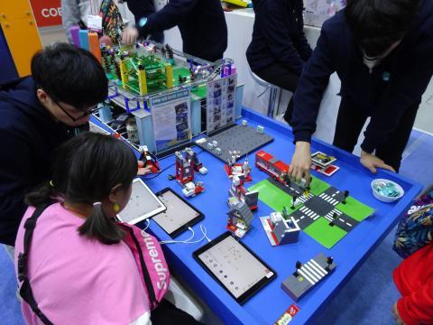 올해 박람회 현장에는 코딩을 놀이처럼 배우는 다양한 교육 제품들이 많았다. ⓒ 김은영/ ScienceTimes