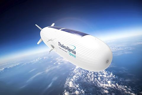 2023년 시험 비행 예정인 스트라토부스. ⓒ Thales Alenia Space