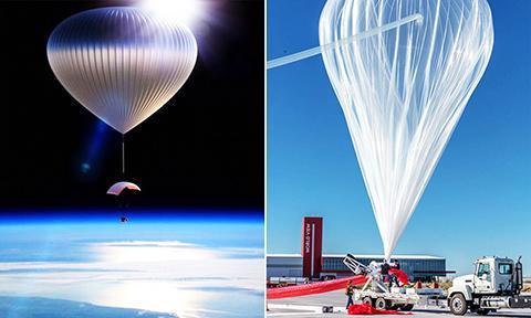 성층권 기구는 소모성 풍선과 회수용 페이로드를 구분해서 설계한다. ⓒ World View Enterprises