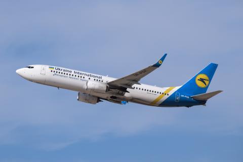 이번에 이란 혁명 수비대의 지대공 미사일 오인 사격으로 격추당한 우크라이나 항공 보잉 737-800. ⒸWikipedia