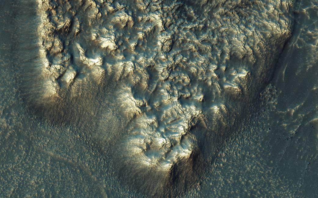 화성 빙하기는 3 억년 이상 지속되었습니다.