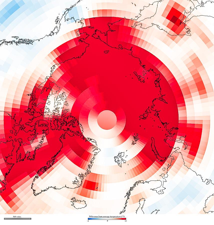 추운 북극의 온난화가 더 심해지는 이유는 무엇입니까?  – Sciencetimes